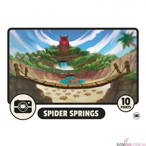 Fireball Island: The Curse of Vul-Kar – Spider Springs