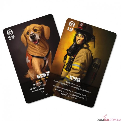 Flash Point: Fire Rescue – Veteran and Rescue Dog