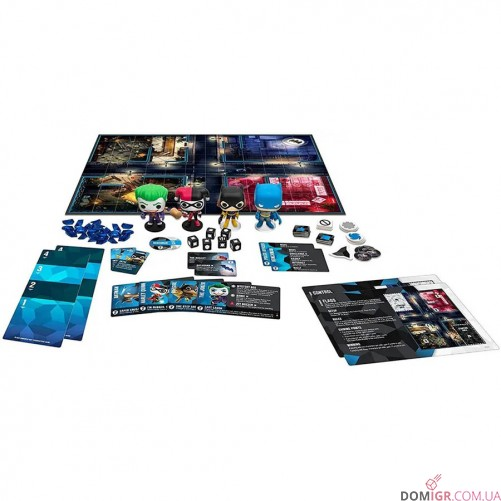 Funkoverse Strategy Game: DC Comics 100 4-Pack