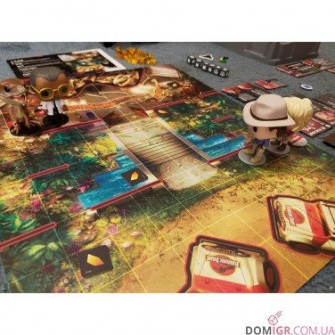 Funkoverse Strategy Game: Jurassic Park 100 4-Pack