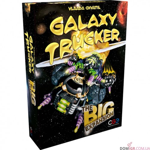 Galaxy Trucker: The Big Expansion
