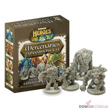 Heroes of Land, Air & Sea: Mercenaries Expansion Pack #1