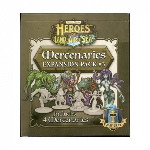 Heroes of Land, Air & Sea: Mercenaries Expansion Pack #3