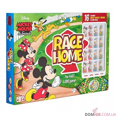 MICKEY & FRIENDS Race Home