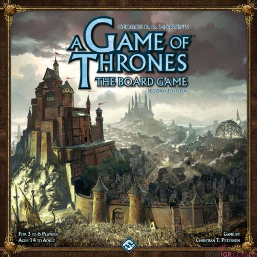 A Game of Thrones - The Board Game: Second Edition
