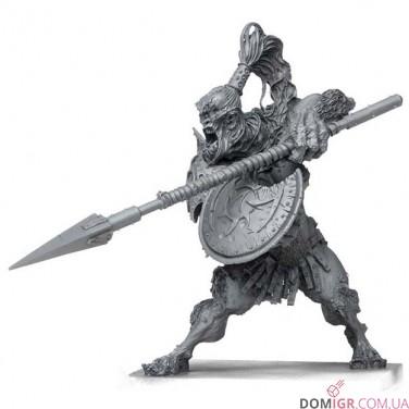 Кромешная тьма: Боевые Жрецы против Циклопической Копейщицы - Набор «Герои и монстры»