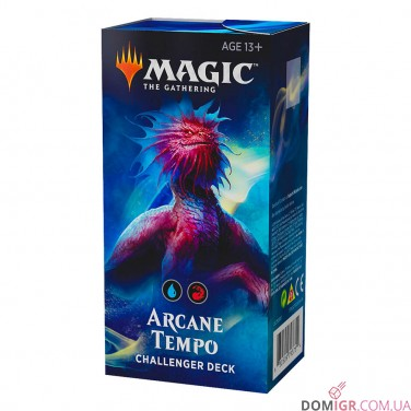 Arcane Tempo – Challenger Deck 2019 – Magic: The Gathering (Англ)