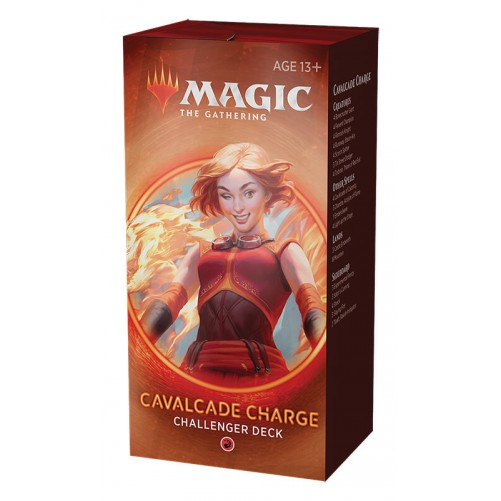 Cavalcade Charge – Challenger Deck 2020 – Magic: The Gathering (Англ)