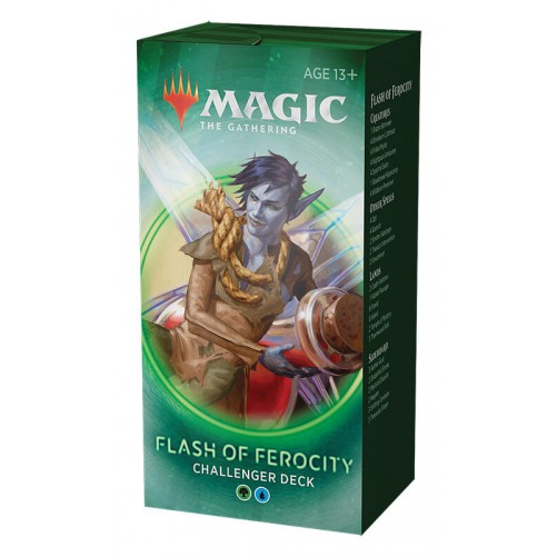 Flash Ferocity – Challenger Deck 2020 – Magic: The Gathering (Англ)