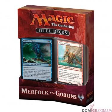 Merfolks vs Goblins - Duel Decks - Magic The Gathering