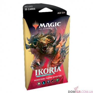 Ikoria The Lair of Behemoths: Monsters Theme Booster - Magic The Gathering (Англ)