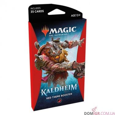 Kaldheim: Red Theme Booster - Magic The Gathering (Англ)