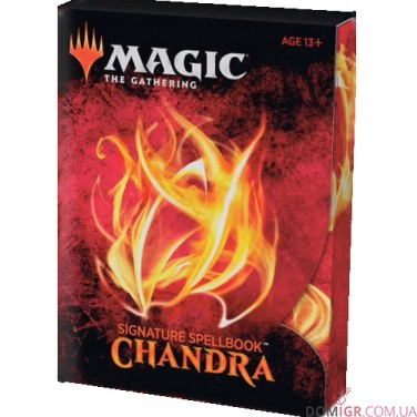 Signature Spellbook: Chandra - Magic The Gathering (англ)