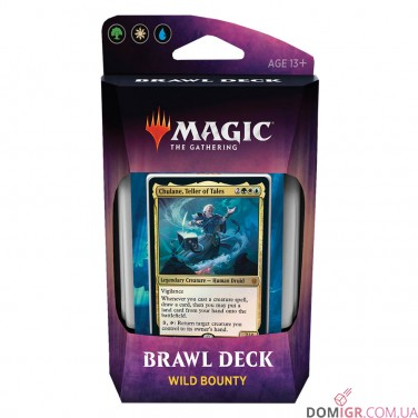 Throne of Eldraine - Wild Bounty Brawl Deck - Magic The Gathering (Англ)