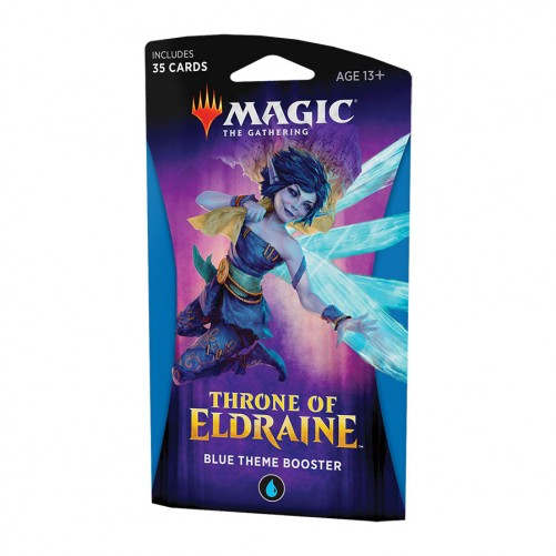 Throne of Eldraine: Blue Theme Booster - Magic The Gathering (англ)