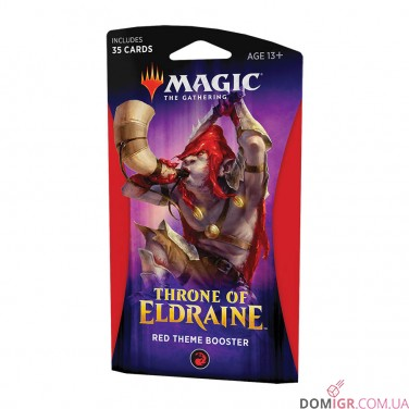 Throne of Eldraine: Red Theme Booster - Magic The Gathering (англ)