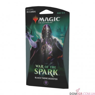 War of the Spark: Black Theme Booster - Magic The Gathering (англ)