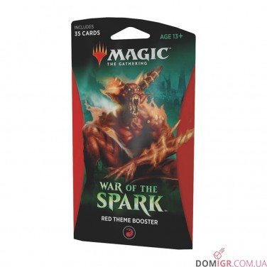 War of the Spark: Red Theme Booster - Magic The Gathering (англ)