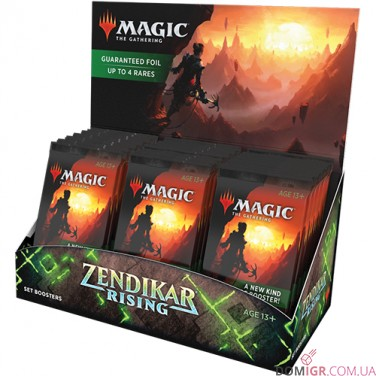 Расцвет Зендикара: Set Booster - Magic The Gathering (Eng)
