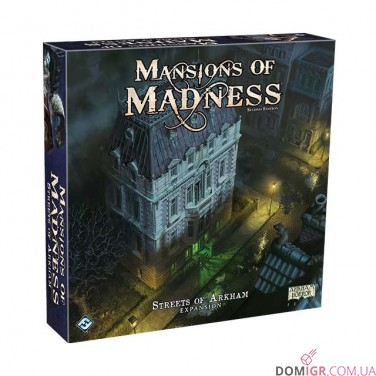 Streets of Arkham - Mansions of Madness: Second Edition