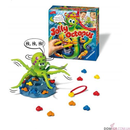 Веселый осьминог Джолли