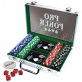 Покерный набор на 200 фишек - алюминиевый кейс (Tactic)
