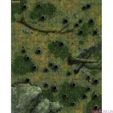 """Pathfinder: Настольная ролевая игра – Игровое поле """"Дремучий лес"""""""