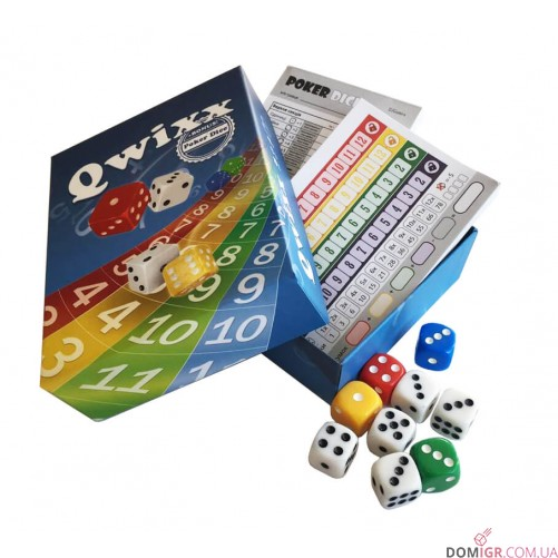 Qwixx + Poker Dice