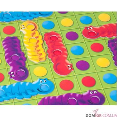 Разноцветные гусенички