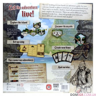 Robinson Crusoe: Adventures on the Cursed Island ‐ English fourth edition