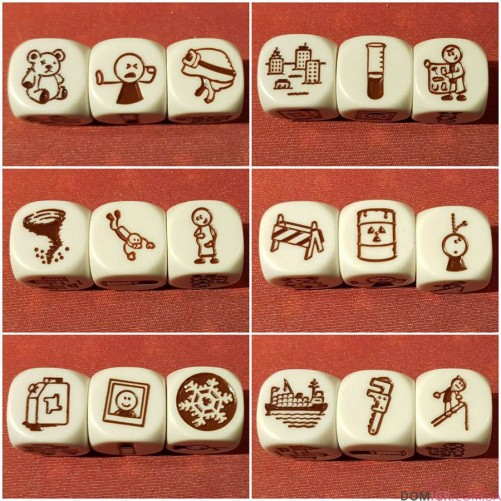 Rory's Story Cubes: Disaster