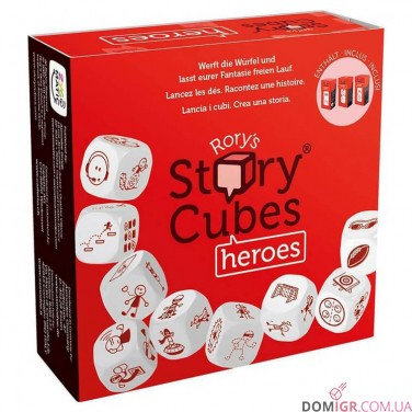 Rory's Story Cubes: Heroes