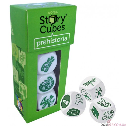 Rory's Story Cubes: PreHistoriya