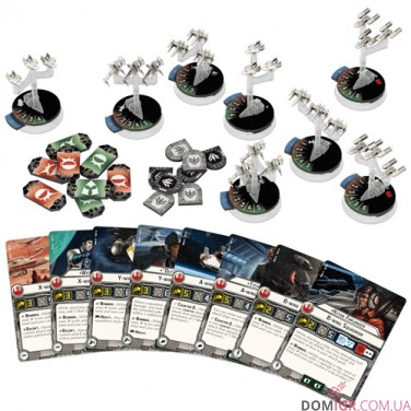 Star Wars: Armada – Rebel Fighter Squadrons