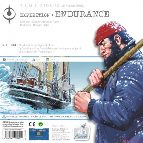 T.I.M.E Stories: Expedition Endurance