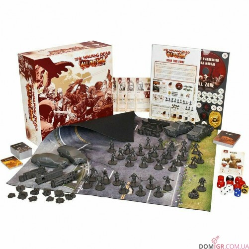 The Walking Dead: All Out War Miniatures Game – Collector's Edition