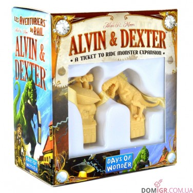Ticket to Ride: The Monster Expansion Alvin&Dexter
