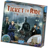 Ticket to Ride Map Collection: UK/Pennsylvania