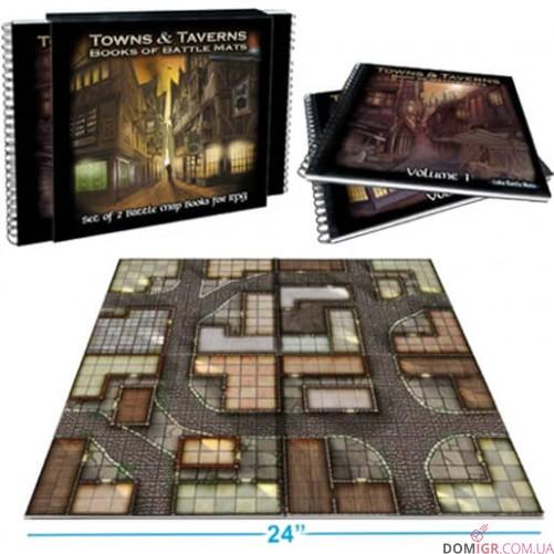 Towns & Taverns Books of Battle Mats