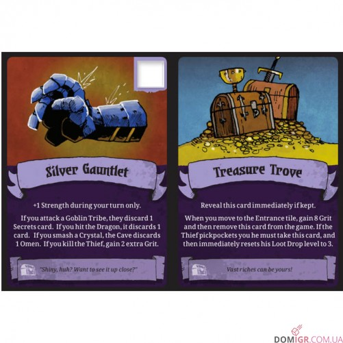 Vast: The Crystal Caverns – Bonus Cards