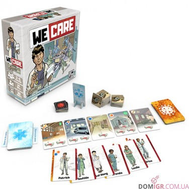 We Care: a Grizzled Game