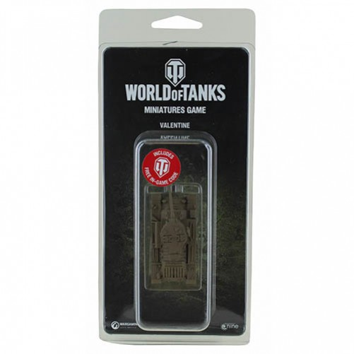 World of Tanks Miniatures Game - Valentine Expansion