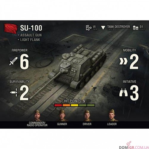 World of Tanks Miniatures Game - SU-100 Expansion