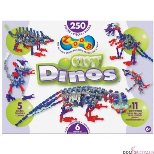 Конструктор ZOOB Glow Dinos