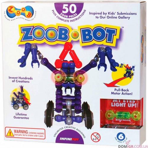 Конструктор Zoob-BOT  с инерционным механизмом