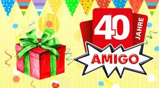 В этом году Amigo Spiel исполняется 40 лет!
