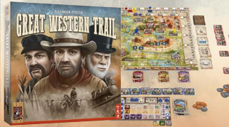Издательство Звезда локализирует игру Great Western Trail