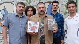 Автор настольных игр Александр Ушан посетил Дом Игр