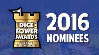 Определены номинанты премии Dice Tower Award 2016