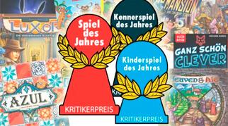 Стали известны номинанты конкурса Spiel des Jahres 2018